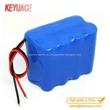 Tubo termorretráctil para el paquete de batería