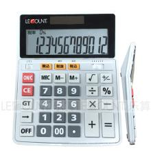 Opcional 12/14/16 dígitos Dual Power Office Calculator (CA1092C)