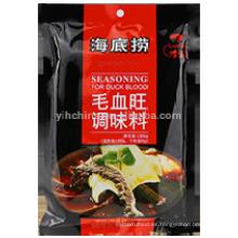 Sazon de pimiento caliente para Sangre de pato con salsa de chile