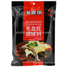 Hot pot Seasoning for Duckblood with Chili Sauce