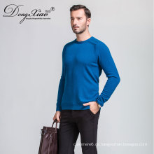 Oem Acceptable Mens Rundhals Pullover Kaschmir-Pullover aus China Factory