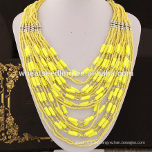 2015 bohemia Stil 6 Farben auf Lager Perle Halskette