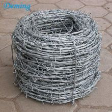 الشركة المصنعة 25kg Roll Military Steel Steel Barbed Wire