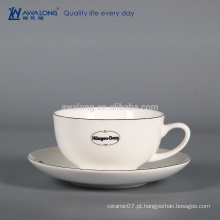 Atacado Bone China Coffee Cup E Pires, Copo De Café Térmico Fabricantes Da China