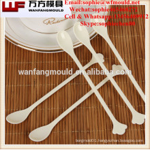 Multi-cavity injection plastic coffee spoon mould/coffee spoon mold design & maker