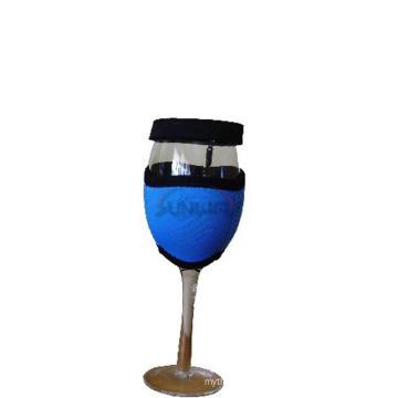 Porte-verre isolé en néoprène ou à vin avec couvercle (BC0045)