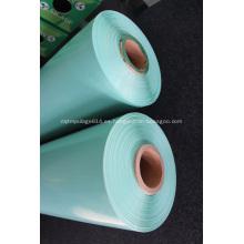 Envoltura de ensilaje verde para heno con resistencia a los rayos UV