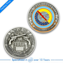 High Quality Customized Die Casting 3D Both Side Challenge Coin From China