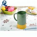 Wholesale Price Colorful Glazed Custom Printed Ceramic Mug