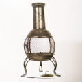 Patio-Heizungs-Messingarbeiter-Garten-Ofen Chiminea BBQ