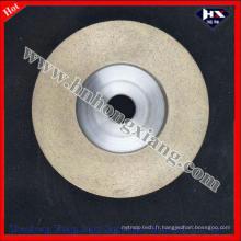 Roue de coupe pour machine à angle / roues abrasives à diamant pour verre