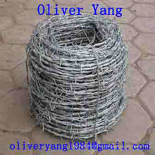 Barbed wire twisted for field animal fence protecting fencing used T post or Y post