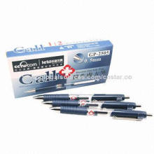 Doctor Gel Ink Pens with 0.05cm Thickness of Line, Dark Blue Color