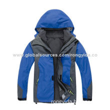 Men's 3-in-1 Ski Jacket with Waterproof/Wind-proof/Breathable Function
