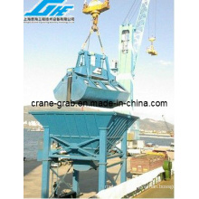 Fixed Type Hopper and Electro-Hydraulic Clamshell Grab