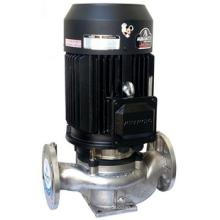 Pompe à eau centrifuge haute efficacité en acier inoxydable canalisation verticale