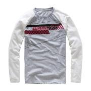 Men\'s Round-Neck Long Sleeve Cotton/Elastane T-shirt