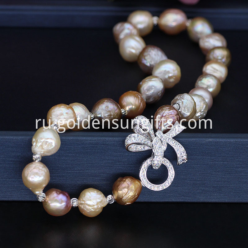 Baroque Pearl Necklace Jewelry