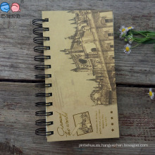 Cuadernos grabados en relieve de Wirecover de Hardcover (NP (48K) -X-010)