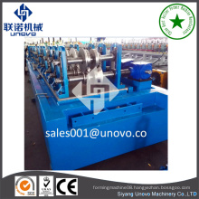 China supplier metal Vineyard Grape Stake vineyard trellis production line C shape channel