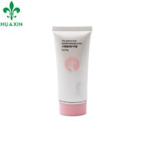 Tubo de empaquetado limpio del tubo de la crema de la mano de la forma oval plástica 50ml