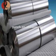 Precio de la hoja de aleación de titanio Gr2 venta caliente por gramo