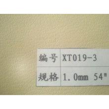 0,7-1,5 mm de espessura Lichee padrão couro sintético PU para estofos