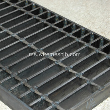 Hot-dip Galvanized Steel Bar Grating Stair Treads