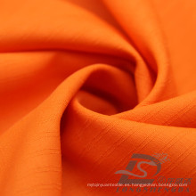 Water & Wind-Resistant Outdoor Sportswear Chaqueta de tela Tejido Doble-rayado Plaid Jacquard 100% poliéster Pongee tela (E059H)