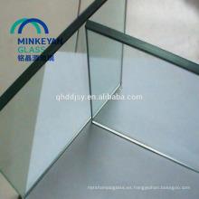 vidrio templado perforado