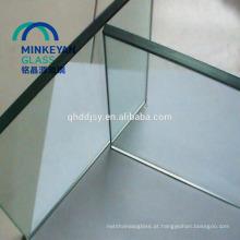 vidro temperado perfurado