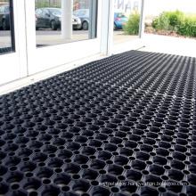 Top Sale Anti Skid Non Slip Anti Fatigue Drain Drainage Holes Perforated Kitchen Door Rubber Mat