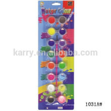 8 Tiras 2 Row Pots Water Colour (2ml / pot) - Embalagem em Blister
