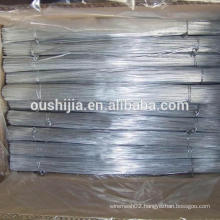 High quality Electro Galvanized Straight Steel cut wire(manufacturer)