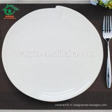 Belle cuisine de bonne qualité Vaisselle en céramique Assiette pour nourriture