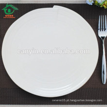 Restaurante De Boa Qualidade Bonito Louça De Cerâmica Placa Para Alimentos