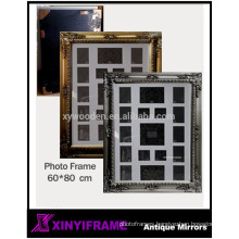 Classic wooden photo frame, oil painting frame