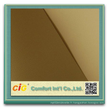 3 couches en PVC 1 couche en fibre de verre rouleau rideau en fibre de verre PVC en noir