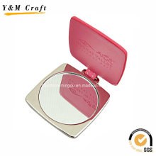 Customised Zinc Alloy / PU Pocket Mirror Ym1153