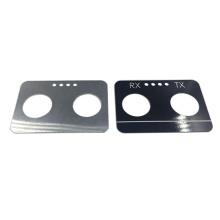 Hoja de aluminio de metal fino anodizado