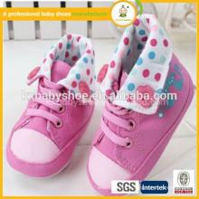 0-12 mois Canvas Soft Sole Baby Boys Chaussures de tennis pour filles