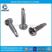 DIN standard stainless steel philips pan head self drilling screw
