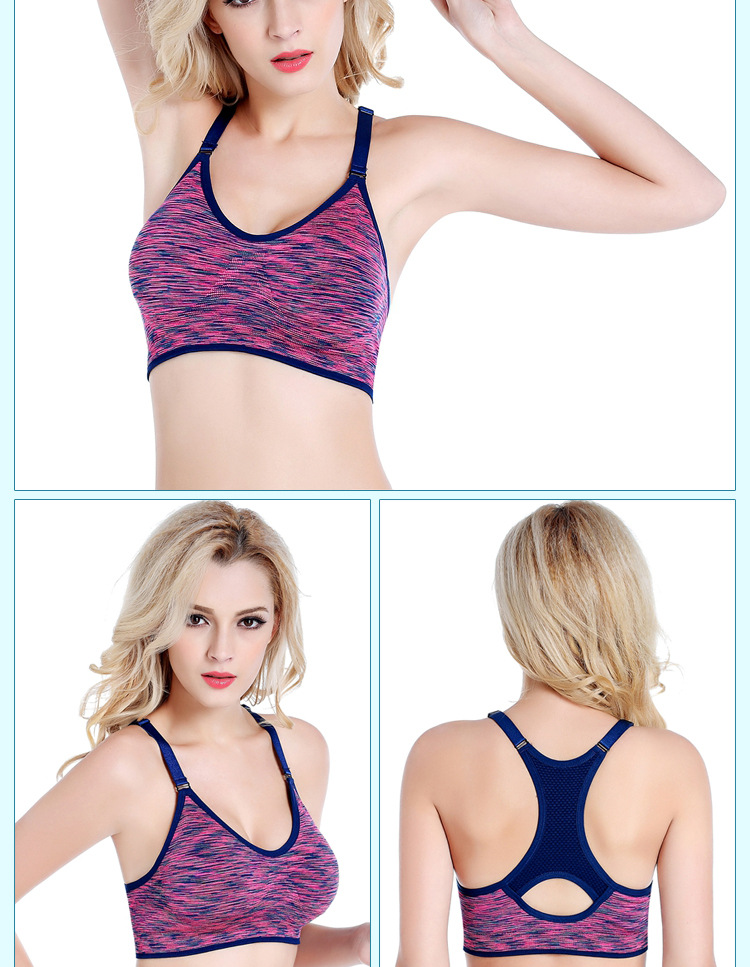 Comfortable Yoga Bra High Impact Workout Bra