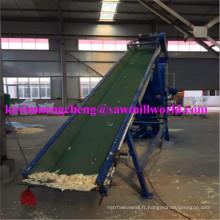 Machine à emballer verticale hydraulique de presse à balles de dosage pour des copeaux en bois