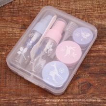 ПЭТ бутылки Брызга упаковывать дорожные наборы, косметическая Упаковка бутылки путешествия (PT08)