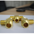 High Quality Machined Brass Fitting Parts