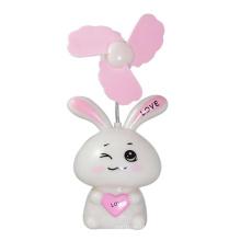 Ventilador lindo del conejo del diseño mini ventilador del USB
