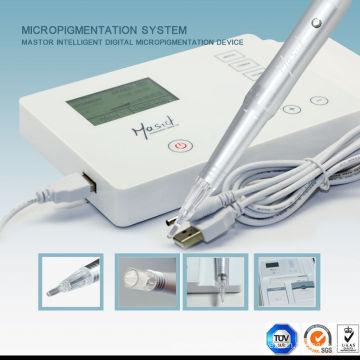 Machine de maquillage permanente rotative électrique professionnelle Machine de tatouage Nano Micro Needle pour sourcils