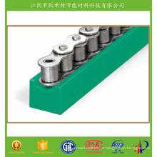 Guia plástico da corrente da fibra de vidro do nylon 66 do perfil