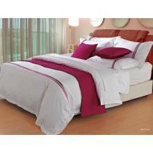 Juego de cama de algodón egipcio y ropa de cama de calidad del hotel